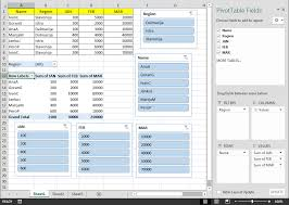 Pivot Table In Excel 2013 Self Education Learn Free Excel 2013 For Beginners Slicers In