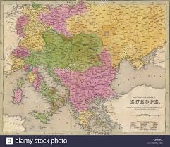 Eastern Europe Map Antique Map Of Eastern Europe From The Out Of Print 1841 Goodrich