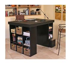 Diy Craft Desk With Storage Storage Crafting Desk With Storage Together With Craft Table