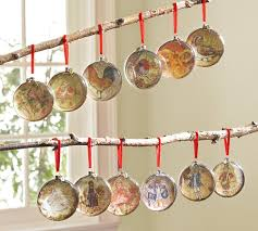time metallic gold shatterproof ornament set
