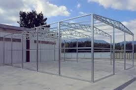 capannoni usati in ferro smontati struttura in ferro per capannoni usata profilati alluminio con