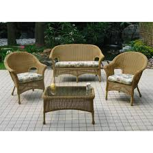 Outdoor Benches Canada Chicago Wicker 4 Pc Darby Wicker Patio Furniture Collection