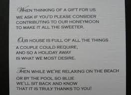 wedding gift honeymoon 7 wedding gift poems asking for honeymoon money best 25 honeymoon