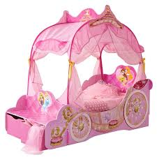 Disney Princess Toddler Bed With Canopy Awesome Disney Princess Carriage Toddler Bed With Storage Opener
