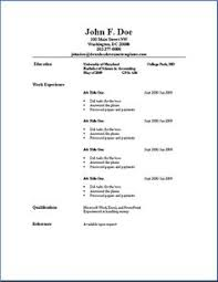 Classic Resume Examples Printable Resume Examples Resume Example And Free Resume Maker