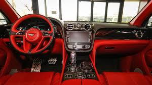 bentley sedan interior bentley bentayga first edition royal motors