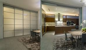 Closed Kitchen Trend Broken Concept Opens Rooms While Retaining Separation Of