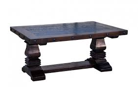 Pedestal Coffee Table Lg Cen 02 The Rustic Mile