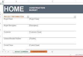 renovations budget template home construction budget template for excel
