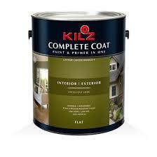 kilz complete coat flat primers specialty paints u0026 concrete