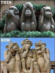 24 best wise monkeys images on see no evil wise