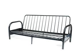 amazon com roundhill furniture black metal futon frame full