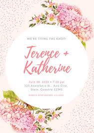 wedding reception invitation templates pink wedding reception invitation templates by canva