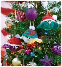 mouse ornament knitting pattern crafts