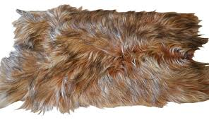 long goat fur rug plate contemporary area rugs by curly