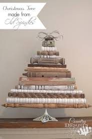 christmas tree with spindles
