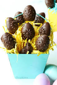 filled easter eggs chocolate chip cookie dough filled easter eggs allergylicious