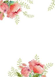 floral invitation template free printable free invitation