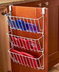 Inside Kitchen Cabinet Door Storage Cabinet Lid Organizer Pots Containers Storage Over Door Space