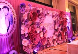 wholesale wedding paper flower wfam 74