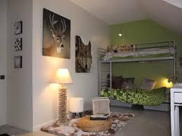 chambre vert gris photos décoration de chambre d ado jumelles nature vert gris de