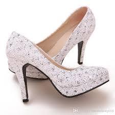 wedding shoes brands silver fashionable brand new 10cm high heels bridesmaid