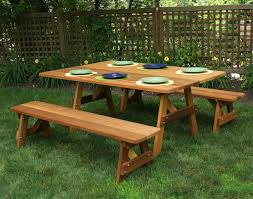 Red Cedar Octagon Walk In Picnic Table by 42