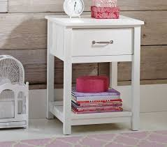 Pink Nightstand Side Table Camp Nightstand Pottery Barn Kids