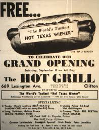 grand opening of the grill ad in clifton nj 1962 vintage