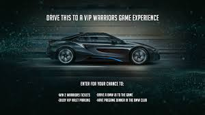 vip bmw bmw vip experience golden state warriors