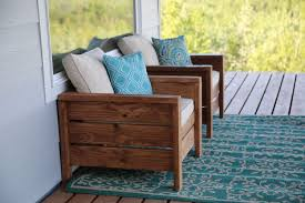 Turquoise Patio Chairs White Modern Outdoor Chair From 2x4s And 2x6s Diy Projects