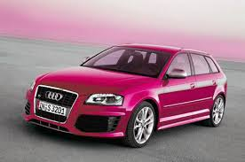 pink audi a6 two market segments are addressed by the audi a3 which was