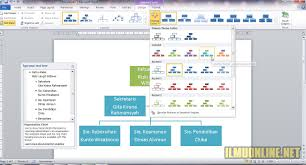 cara membuat struktur organisasi yang menarik cara membuat struktur organisasi kelas di word yang menarik