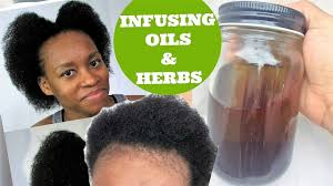 Natural Hair Growth Remedies For Black Hair Diy Ayurvedic Herb Infuse Scalp Oil For Faster Natural Hair Growth