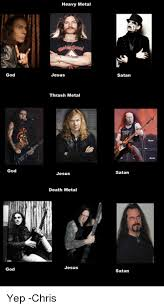 Heavy Metal Meme - good god god heavy metal jesus thrash metal jesus death metal