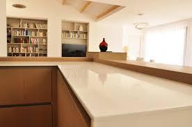 cuisiniste montpellier cuisine blanc et bois 125 agencement intérieur montpellier