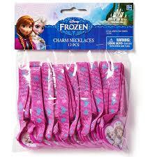 frozen party supplies frozen party accessories charm necklace favors 12 count party
