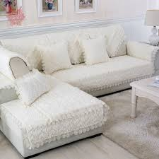 mccreary sectional sofa livingroom modern floral quilted plush sofa cover fur