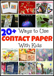 contact paper 20 ways to use contact paper with kids mess for less
