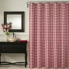 Brown Gingham Curtains Gingham Shower Curtains Foter