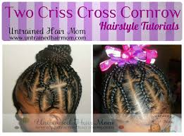 cornrow hairstyle tutorial