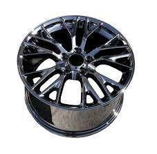 chrome corvette wheels c7 corvette black chrome oem style z06 wheels fitment for c6 z06