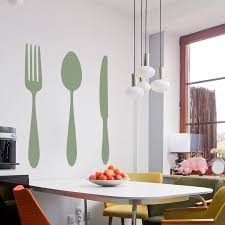 large fork and spoon wall decor art large fork and spoon wall