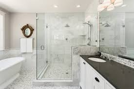 Tile Floor In Bathroom How To Build A Shower Pan Install A Tile Floor Homeadvisor