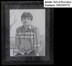 handmade pencil sketch on your face at rs 1700 piece pencil