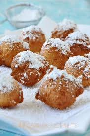 mini cake doughnuts simple and sweet sifting focus