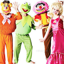 Muppet Halloween Costumes Muppets Kids Costume Mask Boys Girls Halloween Childs Fancy