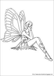 fairies coloring pages free kids