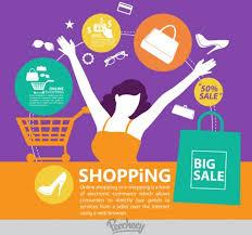 Design Poster Buy | online shopping promotion poster free vector in adobe illustrator ai