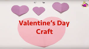 valentine u0027s day craft for toddlers preschoolers youtube